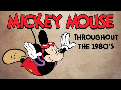 How to Draw Mickey Mouse in the 1980's in Who Framed Roger Rabbit