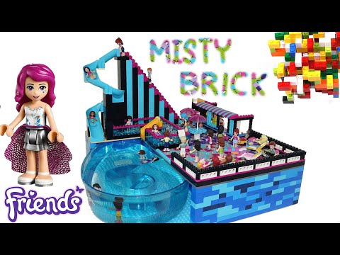 Lego Friends Pop Star Swimming Pool by Misty Brick.