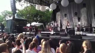 Andy Grammer Fine by me live