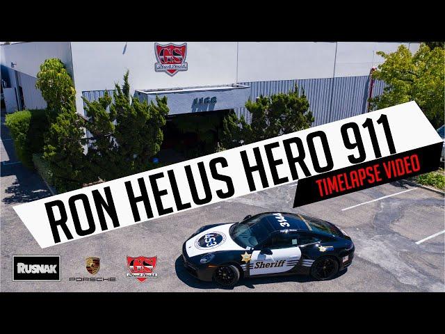 Hero 911 Project Time-Lapse - Ron Helus Porsche Patrol Car  - Ghost Shield Film