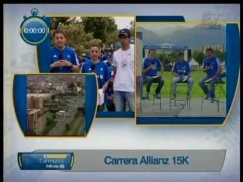 TRANSMISIÓN CUARTA ALLIANZ 15K  - PREPARATORIA PARA LA MEDIA