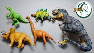Learning Dinosaur names in Jurassic Park