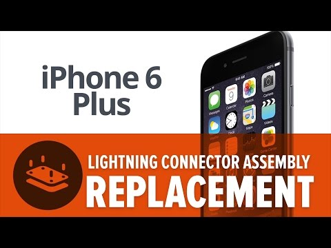 iPhone 6 Plus Lightning Connector Replacement—How To