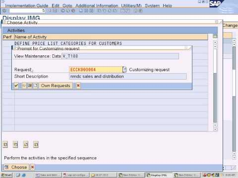 sap sales and distribution Configuration -Define Price Groups and Customer Pricing Procedure