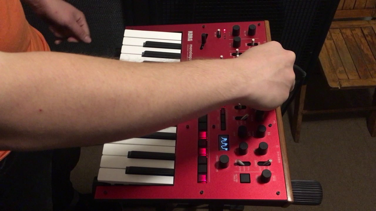 KORG Monologue Synth - a first look at the Brooklyn Synth Expo 2016