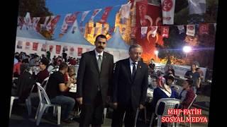 MHP FATİH Ülkücü Şehit Zakir ALKAN iftar çadırı 21. gün