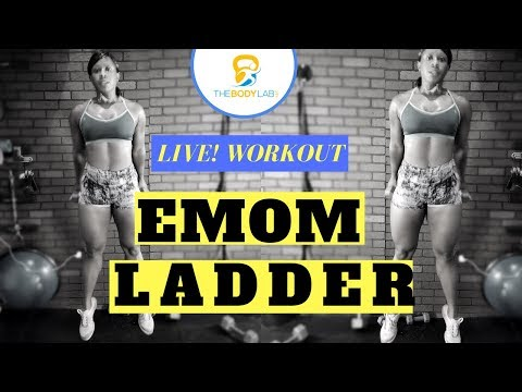 20 Minute EMOM Ladder | Death by Burpees | Full Body Workout | BodyLabTV