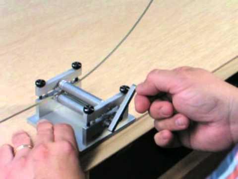 How To Curve Model Railroad Rail Using Micro Mark 81356