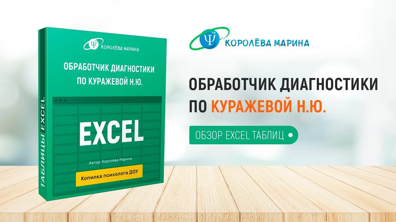 Обработчик по Куражевой Н.Ю. - обзор Excel таблиц