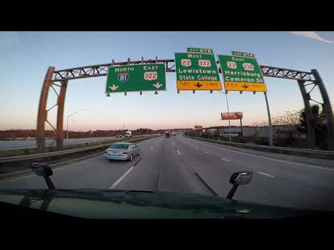 Repeat Interstate 81 Pennsylvania - Exit 52 to Exit 80 by