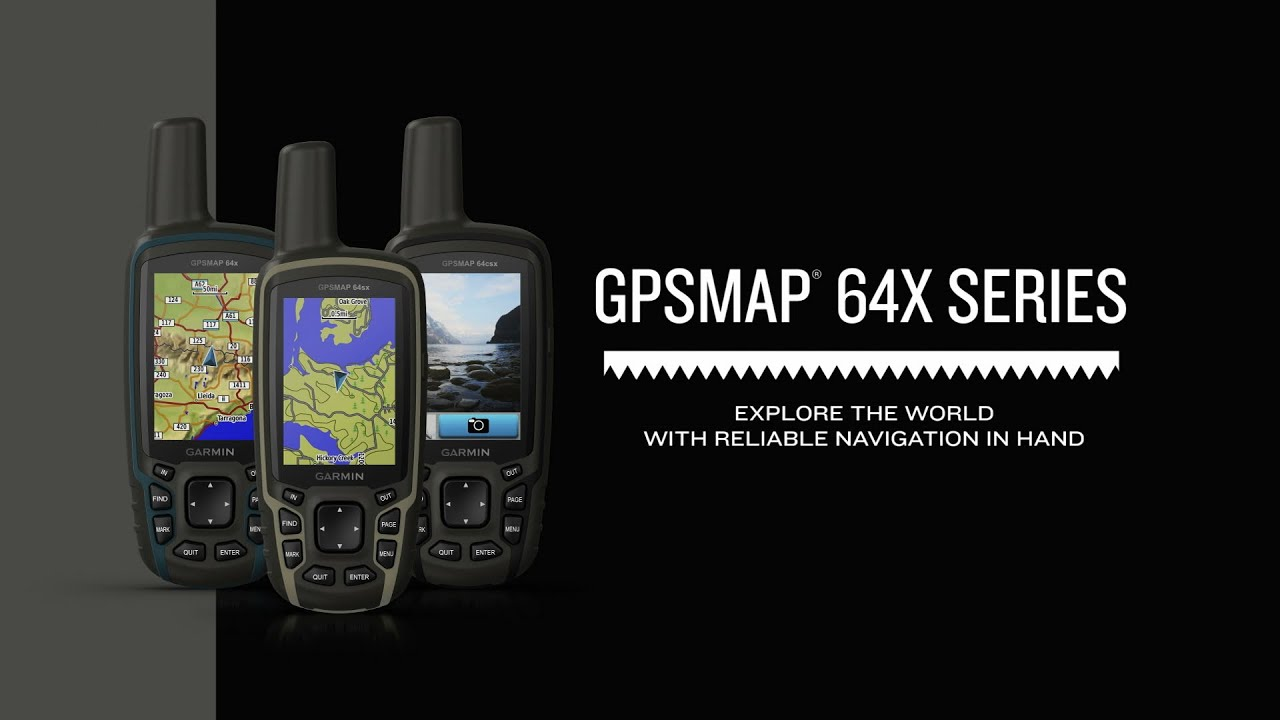 Garmin GPSMAP 64x Series: Reliable Navigation in Hand
