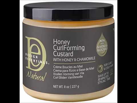Design Essentials Natural Honey Curl Forming Medium Hold Custard For