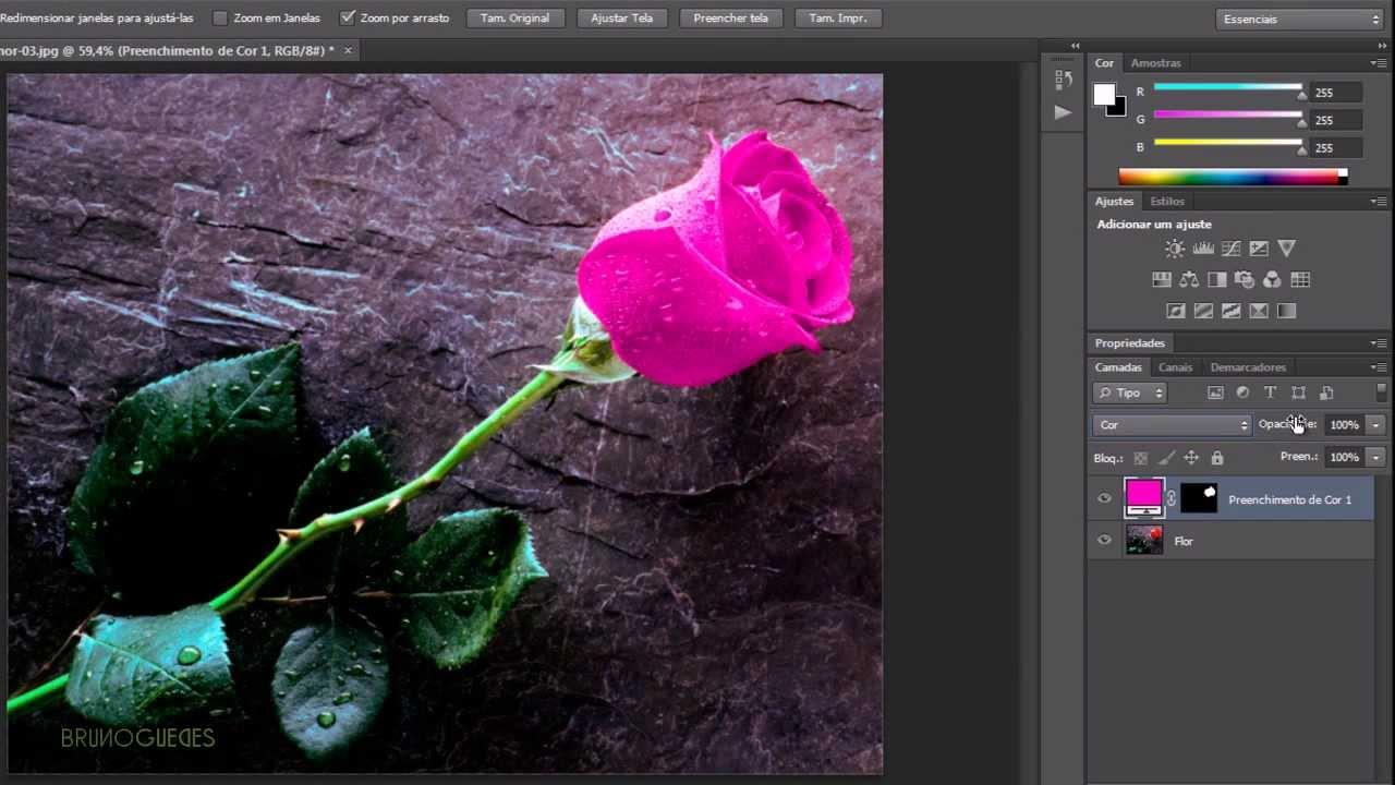 Como Trocar A Cor De Um Objeto No Photoshop Cs6 Em Hd Pratico