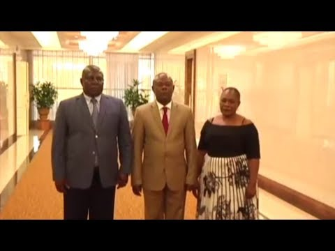 DR Congo Political Party Delegation Arrive in Pyongyang