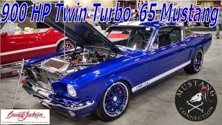 900HP 1965 Mustang GT 350 Twin Turbo, 6 speed sells for $77,000 Barrett Jackson LV 2015
