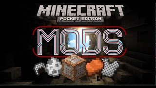 how to get mods on mcpe 0 13   no jailbreak and no computers needed   minecraft pocket edition