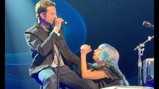 'Nasce Uma Estrela': Bradley Cooper aparece de surpresa em show da Lady Gaga e canta 'Shallow'