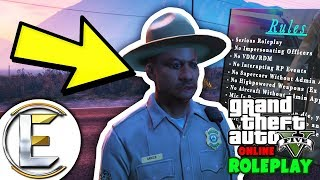 Fake Police | GTA RP - Grand Theft Auto 5 Roleplay - Impersonating a Police Officer (Breaking Rules)