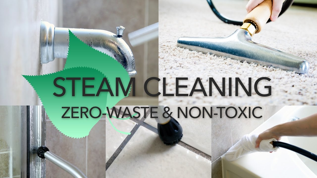 How To Steam Clean Your House Youtube