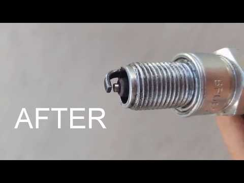 HOW TO CLEAN A SPARK PLUG IN 1 MINUTE