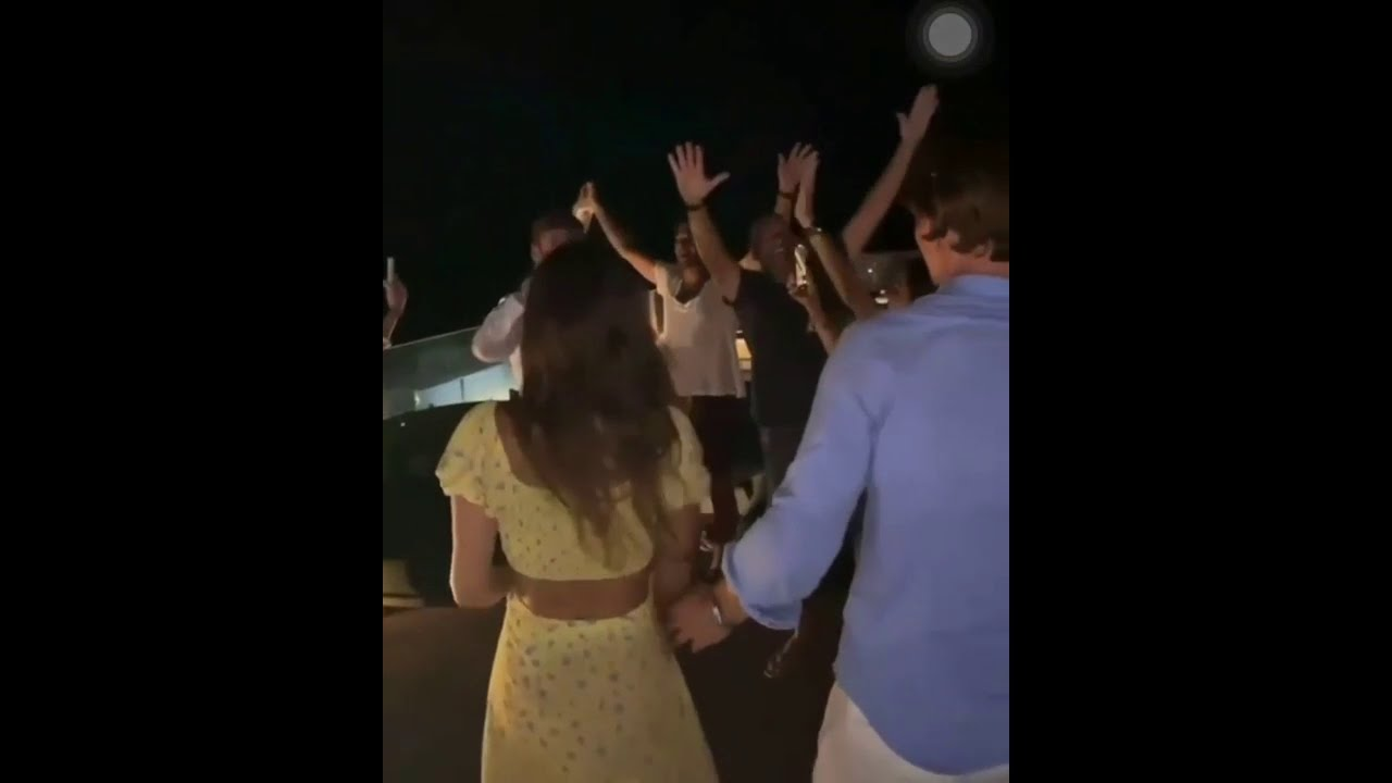 Max Verstappen celebrating New Year with Kelly Piquet in Brazil - YouTube
