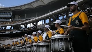 Baylor Football: Behind-the-Scenes of the Golden Wave Band