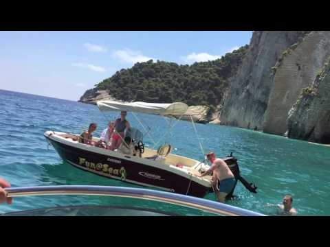 Summer in Zakynthos!! Fun@Sea Boat Rentals - Zante as you've never seen it before!!
