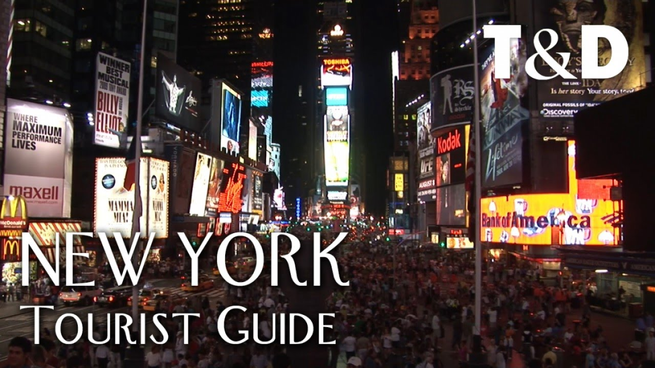 A first time visitors guide to new york city.