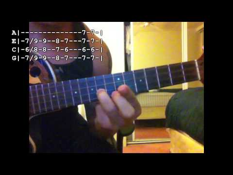 Opihi Pickers - Old Fashion' Touch (Solo) (Ukulele Tutorial)