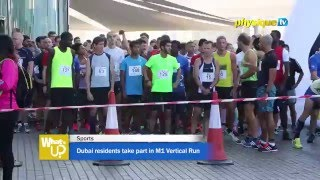 Dubai residents take part in M1 Vertical Run