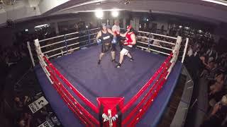 Ultra White Collar Boxing | Glasgow | Hammer Time VS Davie Beard