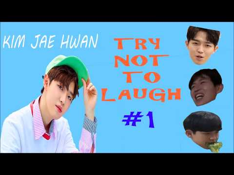 Try Not To Laugh #1 : Kim Jae Hwan Wanna One (워너원 - 김재환)