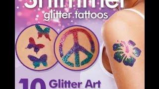 Блестящие татуировки Shimmer Glitter Body Art Tattoos