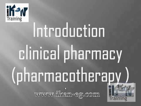 intro lecture clinical pharmacy