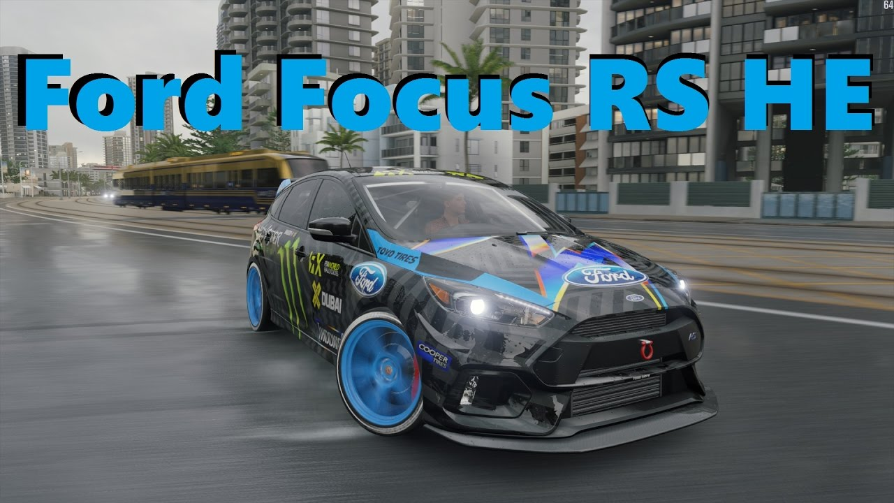 Ford Focus Rs He Forza Horizon 3 Gymkhana Drift Build Youtube