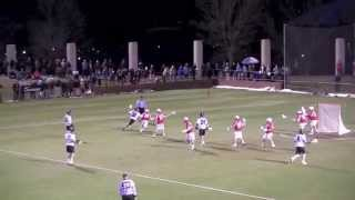 Cornell Lacrosse v UVa Highlights (2013)