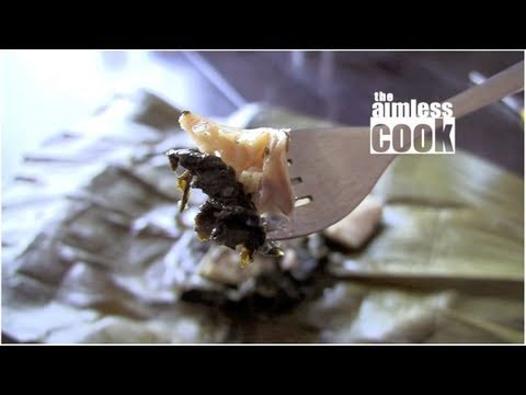 Lau Lau Recipe: Hawaiian Pork and Taro Packets (laulau)