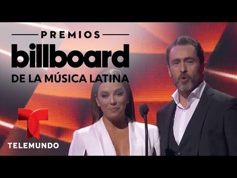 El primer premio de la noche fue para Nicky Jam | Billboards | Entretenimiento