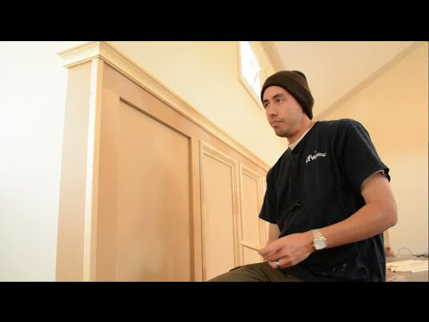 Installing Panel Moulding Recessed Wainscoting Offset