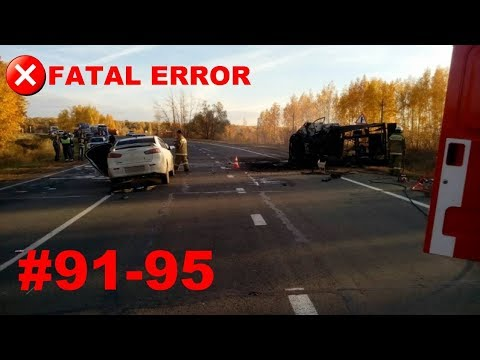 🚘🇷🇺[ONLY NEW] Russian Car Crash Road Accidents Compilation 2017 #91-95