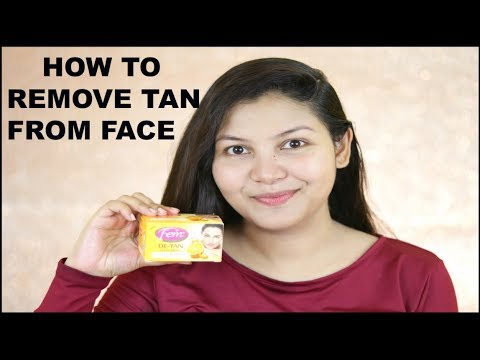 Learn How To Remove Tan From Face Using Fem De Tan Bleach