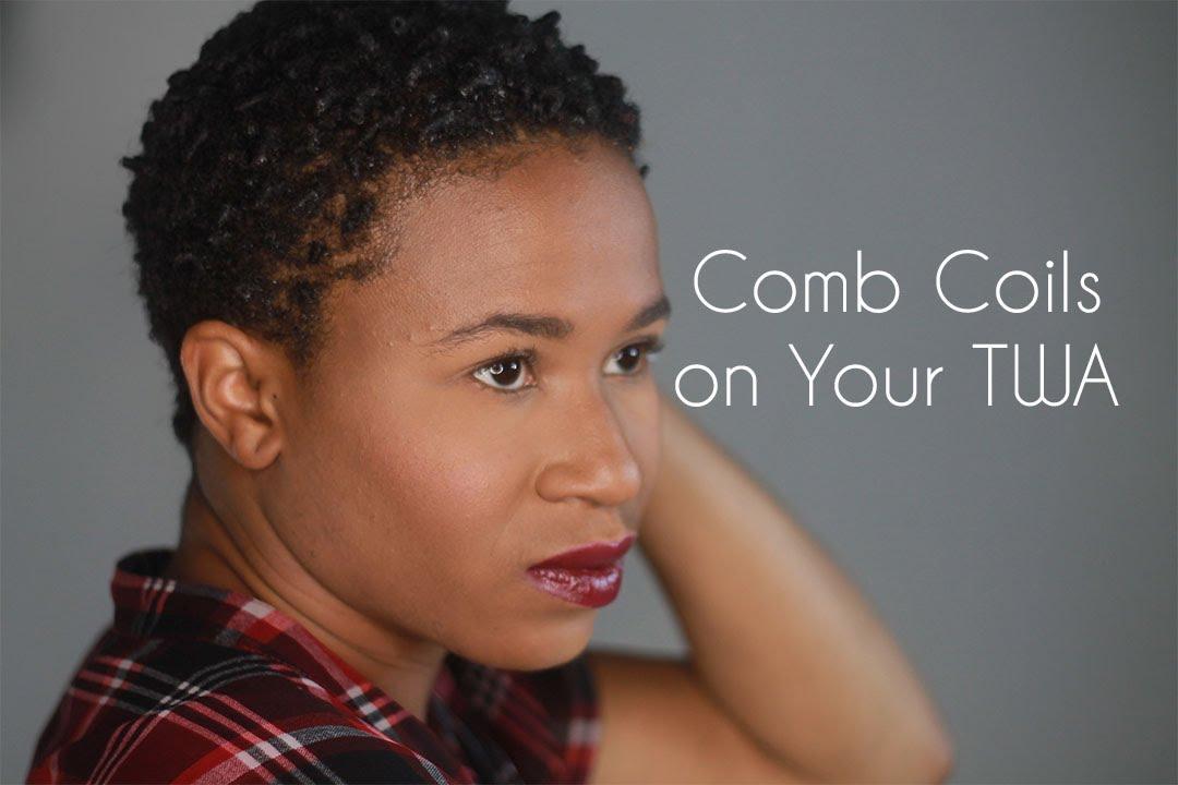 natural hair comb coils