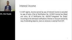 Webinar on GST on Banking Sector