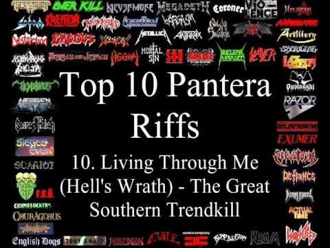 Pantera Top 10 Riffs