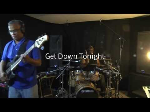Get Down Tonight - KC & the Sunshine Band - Live Drumz & Bass Groove Cover