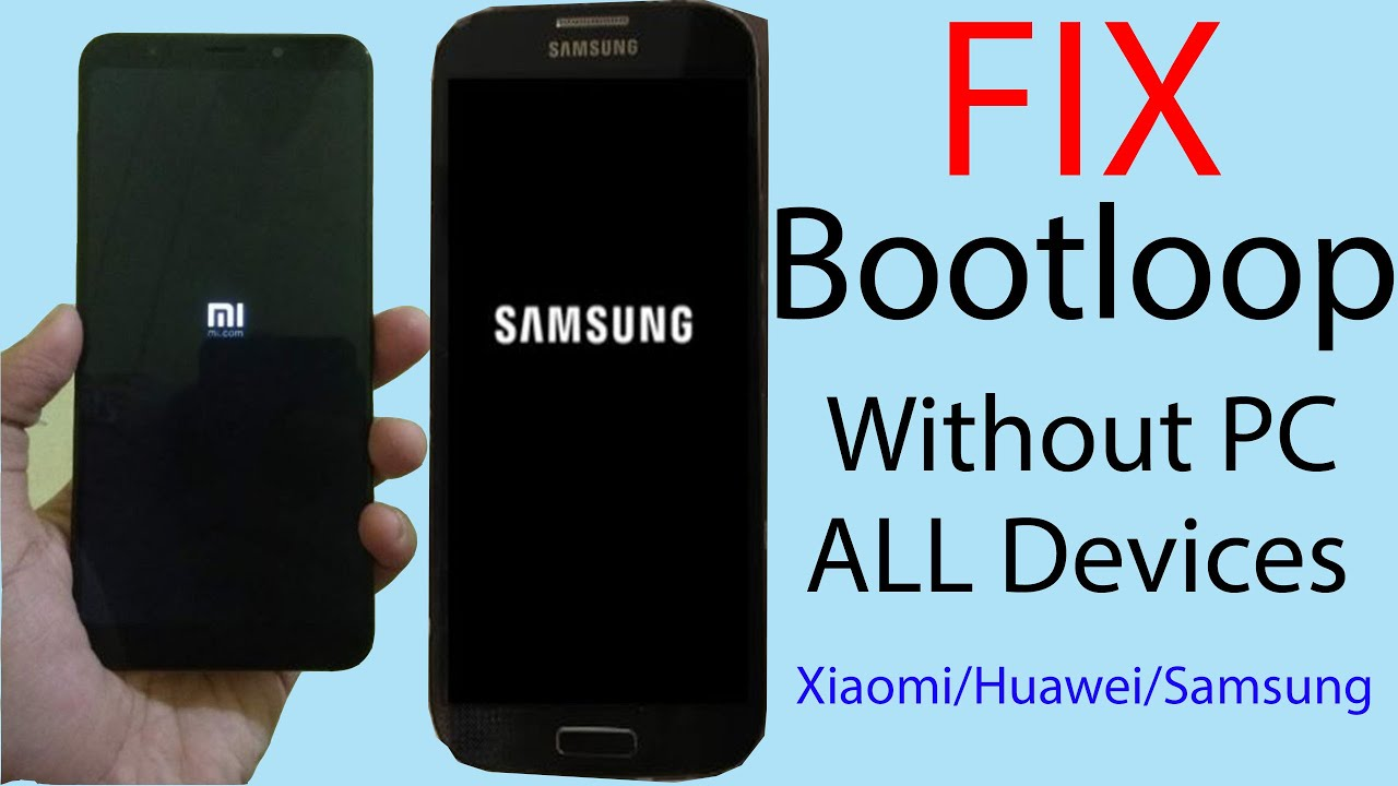 How to Fix Bootloop Without PC | No Root |  Support All Devices