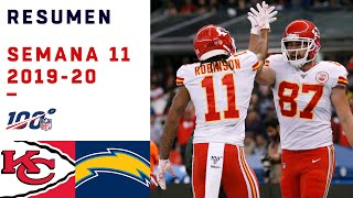 Mahomes y Kelce conquistaron México | Highlights Chiefs vs Chargers