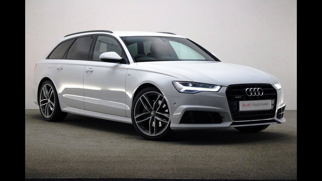 Kt66ywp Audi A6 Avant Tdi Quattro S Line Black Edition White 2017 Reading Audi Youtube