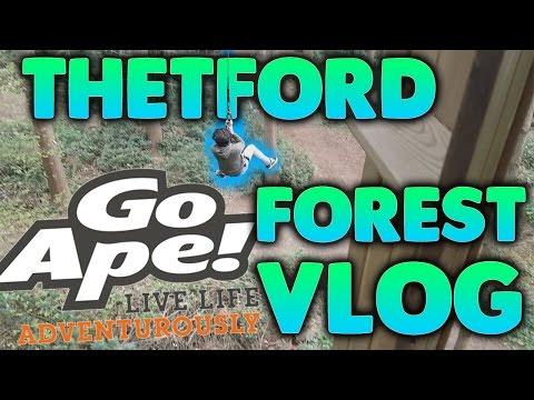 Thetford Forest Go Ape 2017 Vlog!