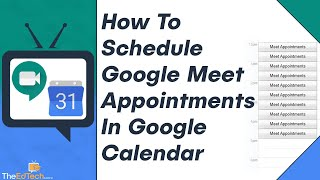 #googlemeet #googlecalendar #googlecalendarappointmentslots tutorial for how to schedule google meet appointment slots in calendar.other videos you mi...